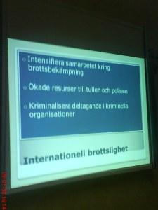 7.Internationell brottslighet