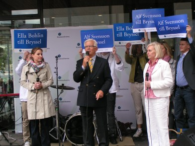 Alf Svensson talar