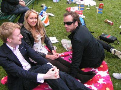 KDU picknick ute i Drottningsholms parken