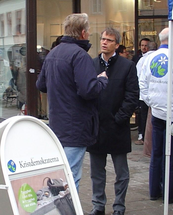 Göran möter medborgarna