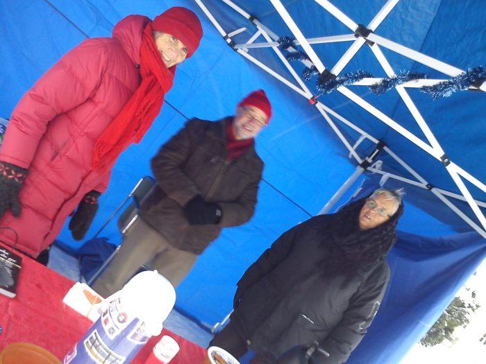 Glada kristdemokrater: Ing-Marie, Bengt-Olof och Ann-Mari