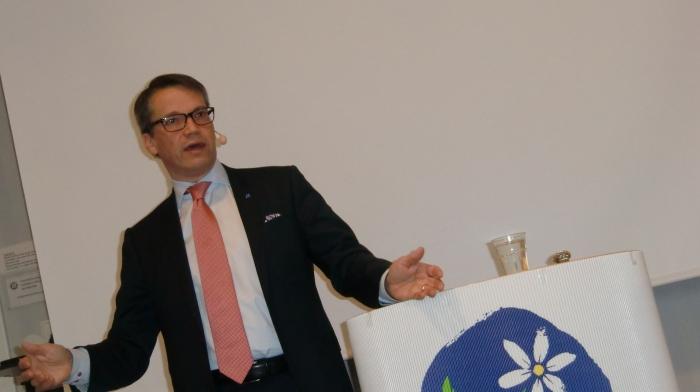 Kristdemokraternas partiledare tillika socialministern Göran Hägglund